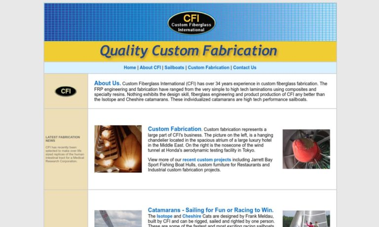 CFI Custom Fiberglass International