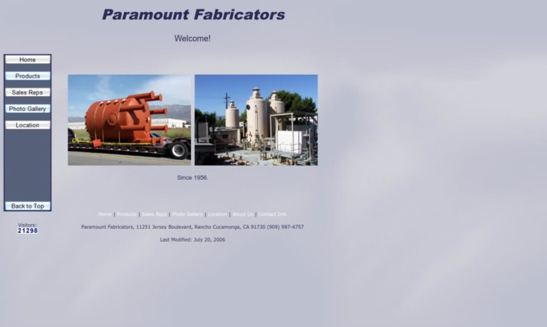 Paramount Fabricators