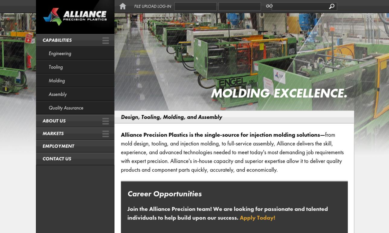 Alliance Precision Plastics, Inc.