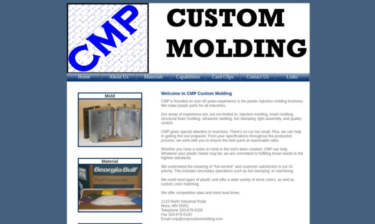 CMP Custom Molding Inc.