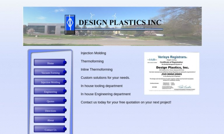 Design Plastics Inc.