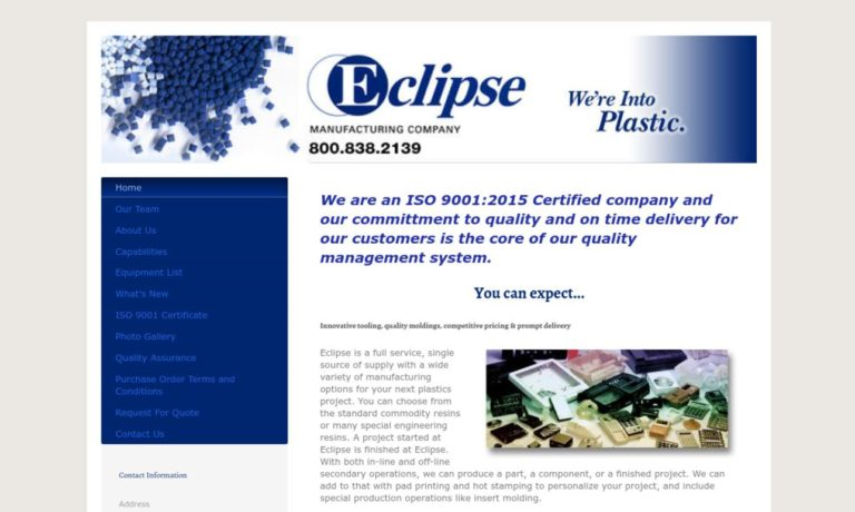 Eclipse Manufacturing Company