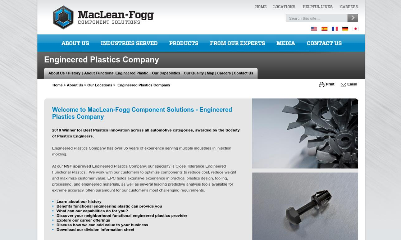 Engineered Plastics Company
