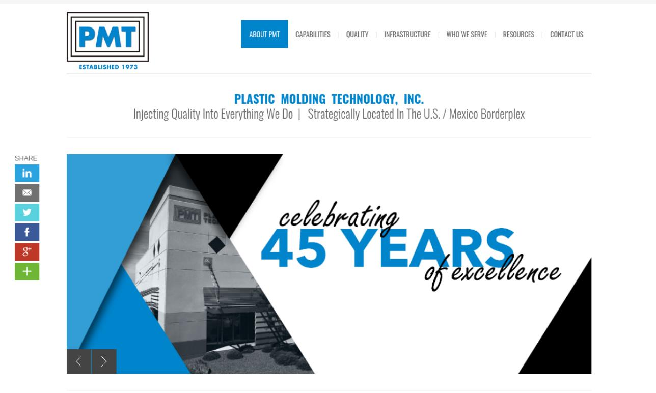 Plastic Molding Technology, Inc.