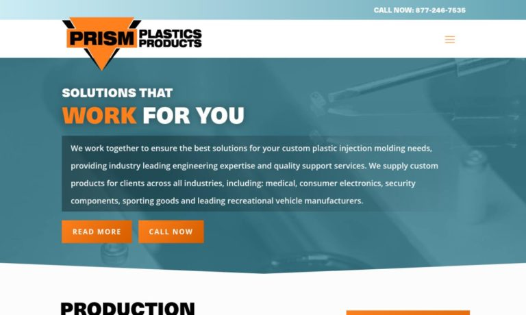 Prism Plastics Products, Inc.
